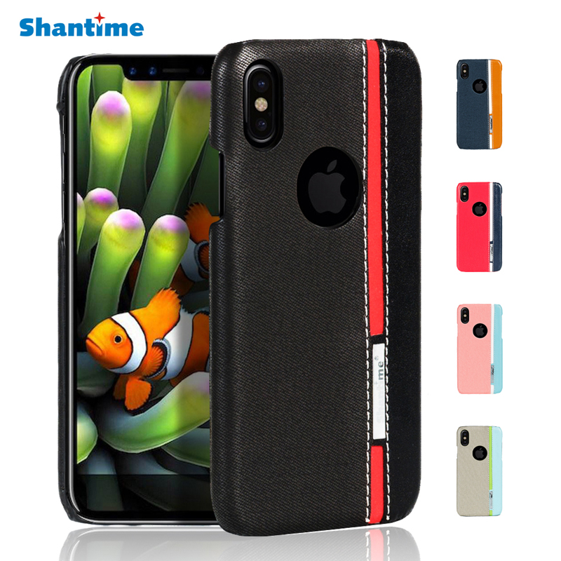 New For phone X Flip PU Leather Case For phone ten With Card Holder Stand Design Coque