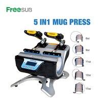 ST 510 máquina dobro da imprensa do calor da sublimação da máquina da imprensa da caneca da estação para 6 oz  9 oz. 11 oz  12 oz  impressão dos copos das canecas de 17 onças|Impressoras| |  -