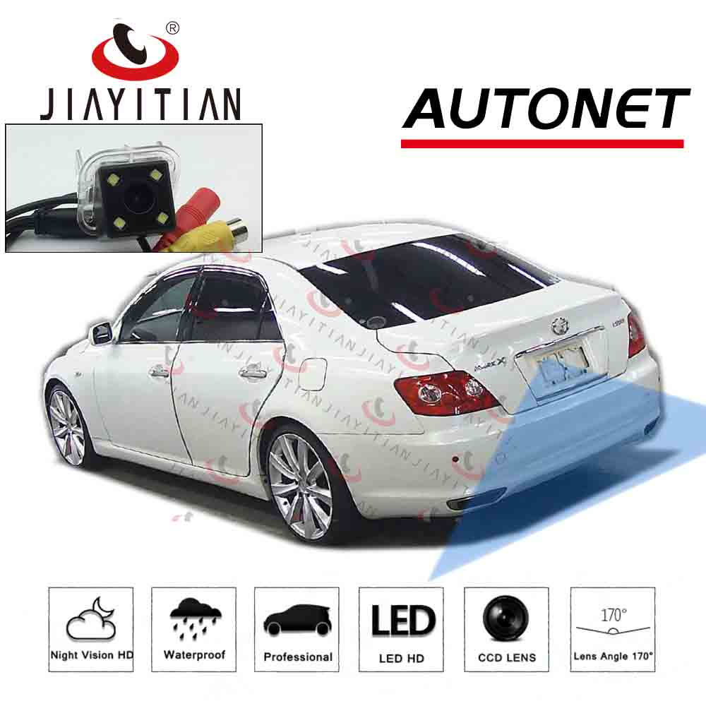 JiaYiTian Rear View Camera For Toyota Mark X RIZE 2004~2009 X120CCD Night Vision/Reverse Camera/Backup Camera/Parking Assistance