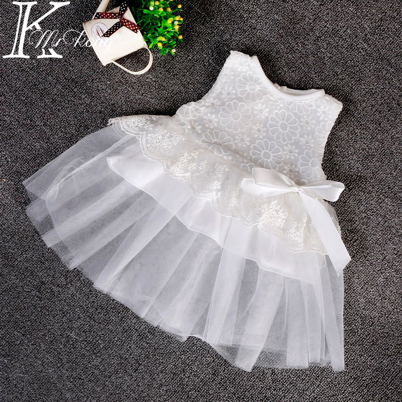party baby summer baptism favors baby girl christening gowns toddler infant dress for little girl lace cotton white dress