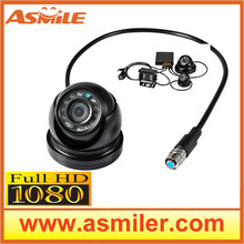 1080P Miniature high-definition infrared hemisphere for Full HD Mobile DVR