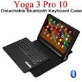Para Lenovo Tab 3 Pro 10X90 YT3-X90L YT3-X90F Yoga Teclado Bluetooth con el Caso de Cuero de LA PU caja de la tableta Portátil de Negocios cubierta