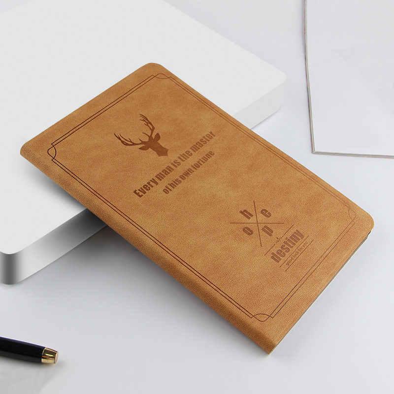 Untuk Samsung Galaxy Tab S5E 10.5 T720 T725 SM-T720 SM-T725 Retro Case Rusa Pola PU Kulit Stand Smart Cover Funda + Film + Pen
