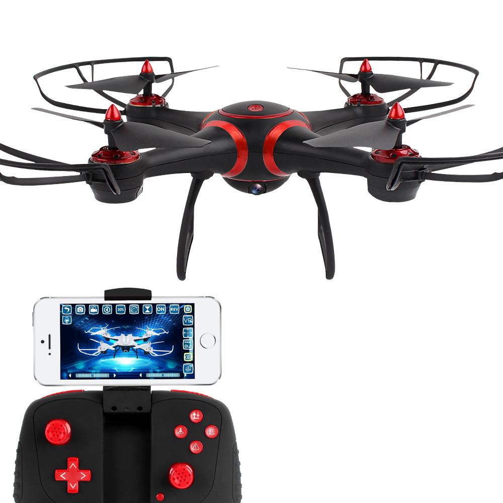 360 Degree Rotating Helicopter Wifi Rc Drone With 2 Camera Hd fpv Quadcopter Wide Angle Camera Video Luminous Toy Drone For Boy wireless video fpv rctransmitter receiver 5 8g 200mw 23dbm 8 channels for rc drone qav250 cctv camera video camera toy parts