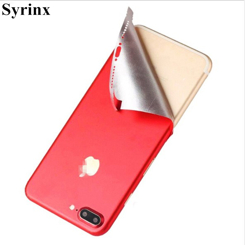 Syrinx Top Sell Full Body Candy Color Decal Sticker Wrap Skin Case Cover  For iphone 6 6s 7 8 Plus X Ice Film for 6 6s Protector 256ebc6468