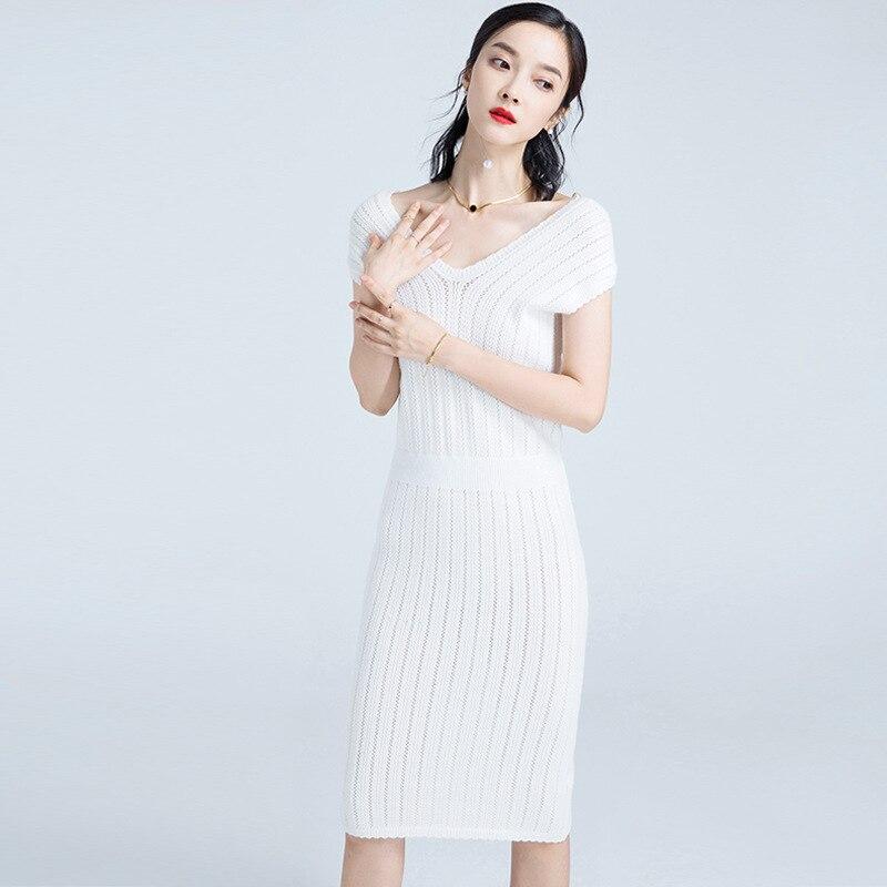 Pure Nouveaux Robe 5 Et 1 Taille Mode 3 V 4 Col D'hiver 2 Pull Coréenne 2018 À Version Mince Chandail Produits La Couleur Automne gt5nTqxFZ