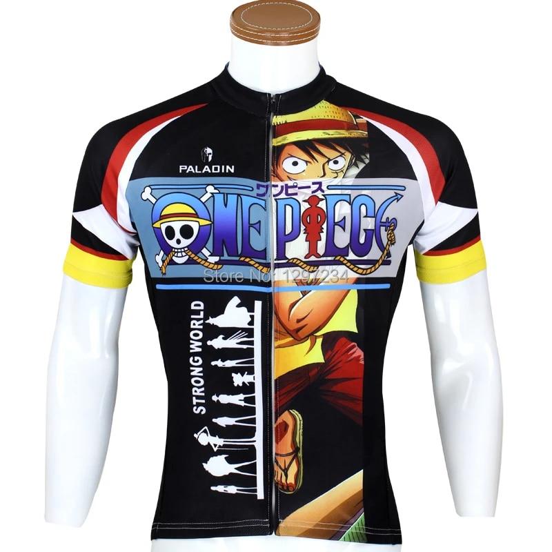 ropa ciclismo 2016 comic One Piece bike jersey luffy/Chopper cheap cycling shirt Ace novelty bike apparel