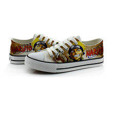 Shoes Stores Anime Naruto Canvas Cool Breathable Shoes for Party
