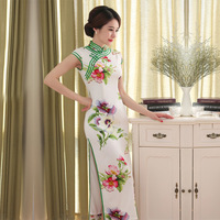 High Quality New Arrival Chinese Traditional Style Dress Women S Long Cheongsam Qipao Clothing Size S