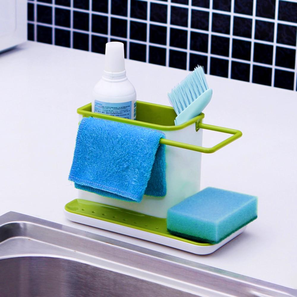 Sink Rack Kitchen Box Dish Towel Drying Shelf Stand Drainboard ...
