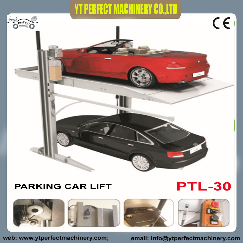Garage Car Lift Images Us 2150 Car Parking Lift Hot Sale Two Post Garage Parking Lift In Car Jacks From Automobiles Motorcycles On Aliexpress Alibaba Group