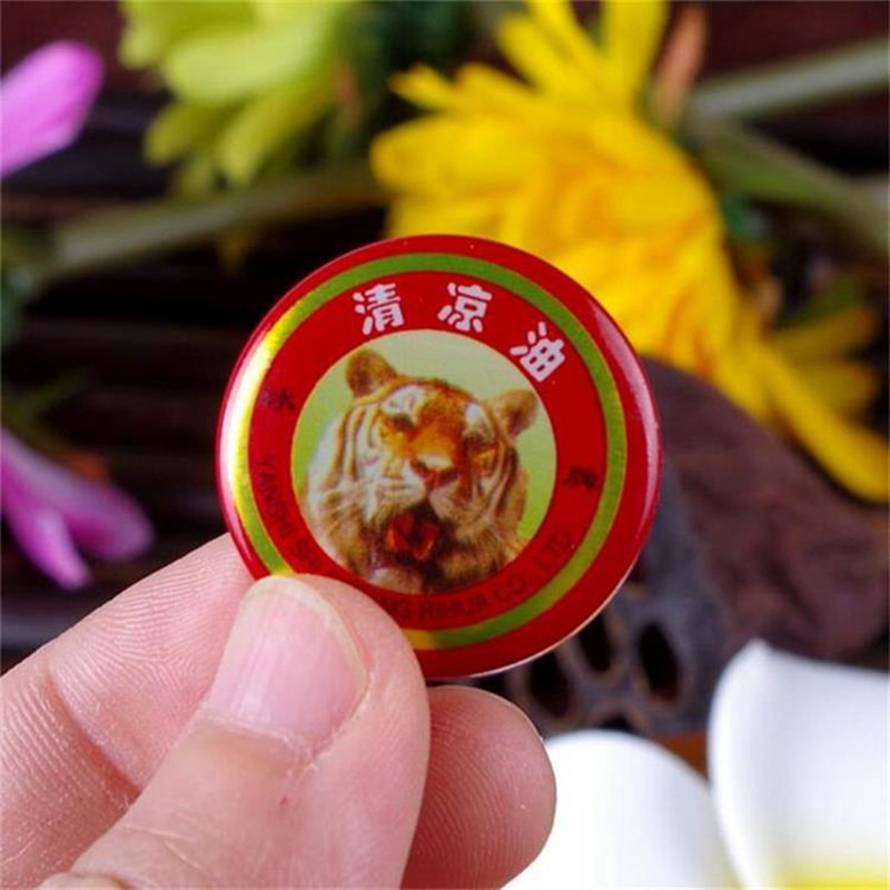 24 PCS Red Tiger Balm Essential Oil Refresh Oneself Treatment Of Influenza Cold Headache Dizziness Summer Mosquito