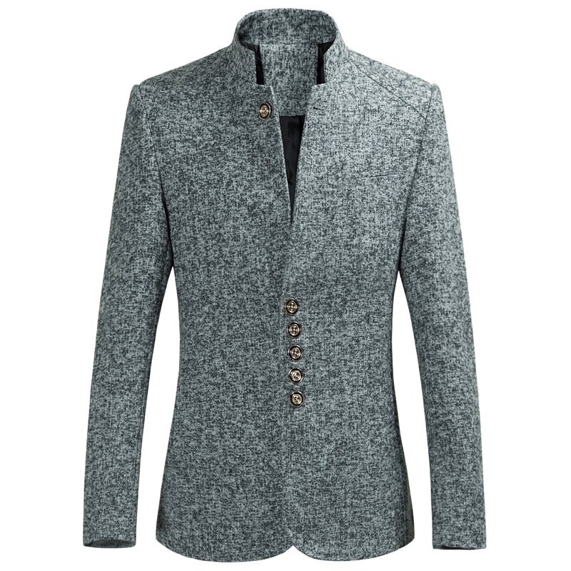 moownuc Casual for Men Male Suits Chinese Blazers Coat