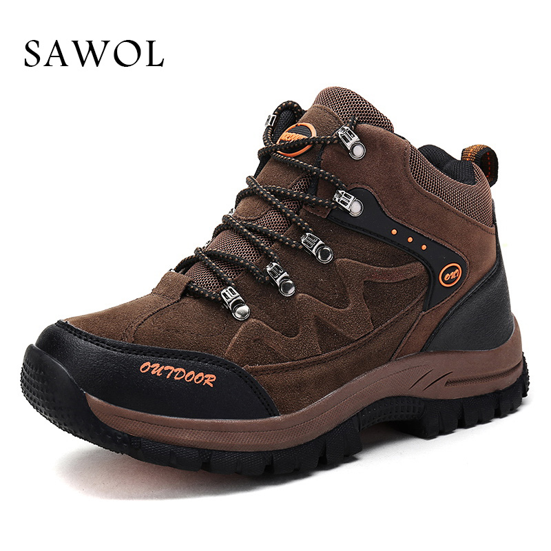 Sawol Men Shoes Men Sneakers Brand Men Casual Shoes Breathable Sport shoes Plus Big Size Flats Lace up Spring Autumn glowing sneakers usb charging shoes lights up colorful led kids luminous sneakers glowing sneakers black led shoes for boys