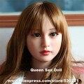 Cabeza de la muñeca de silicona muñecas adultas del sexo de calidad superior, muñeca china fotos, amor muñecas de cabeza, productos orales sexy