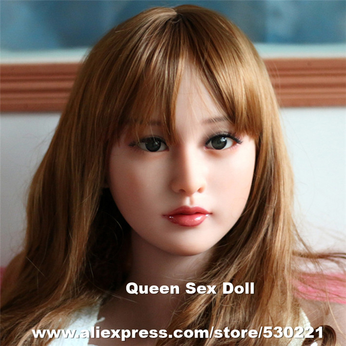 Top quality sex doll head for silicone adult dolls, chinese doll pictures, love dolls heads, oral sexy products