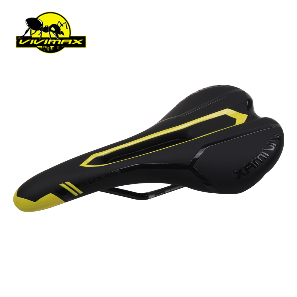RUBAR VIVIMAX CR-Mo Bicycle Saddle For Bike MTB Mountain Road Bike Saddle Hollow Cushion Saddle Cycling Bike Seat 7 Colors rockbros cycling bike bicycle saddle mountain road bike big seat cushion