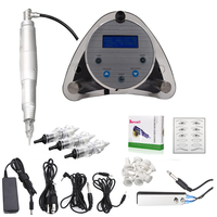Biomaser Aryclice Permanent Makeup Tattoo Machine kits Professional Digital tattoo Machine Eyebrow Lip Pen Machine Needles Sets
