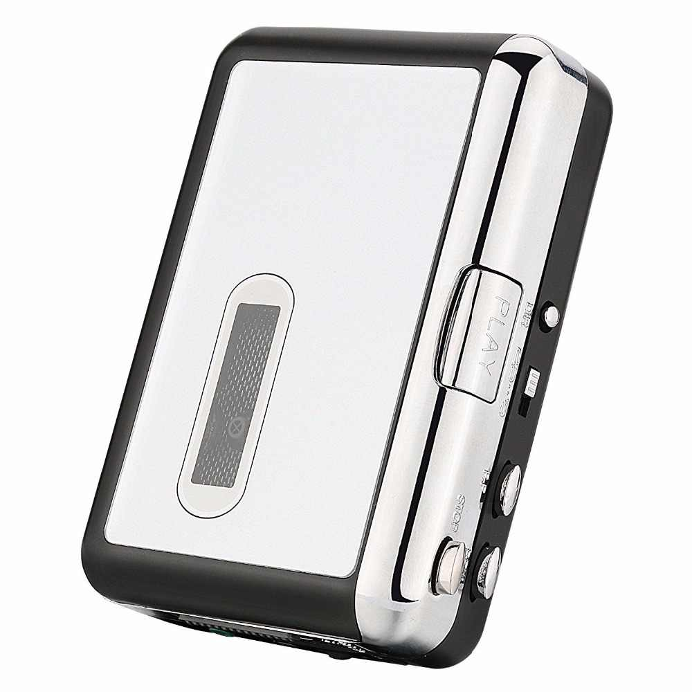 カセットに MP3 コンバータプレイヤーアナログテープ音楽デジタルに保存 USB フラッシュドライブ、 USB ウォークマンカセットプレーヤーポータブル新
