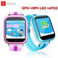 Q750 crianças gps wifi smart watch 1.54 polegadas touch screen crianças segurança anti perdido rastreador smartwatch chamada sos dispositivo de localização