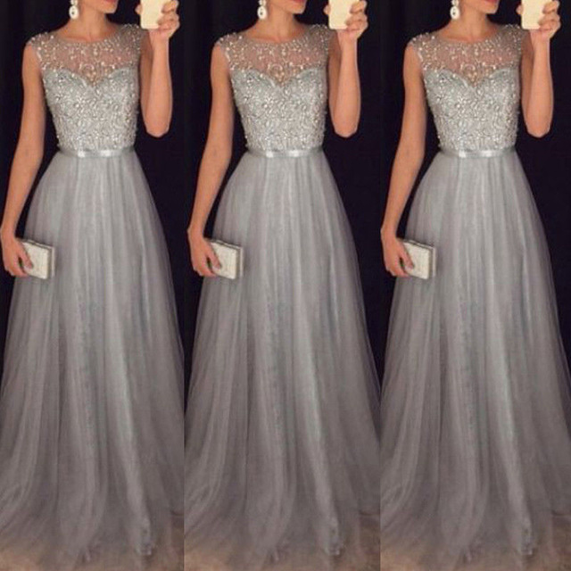 wedding long night party party wear gown