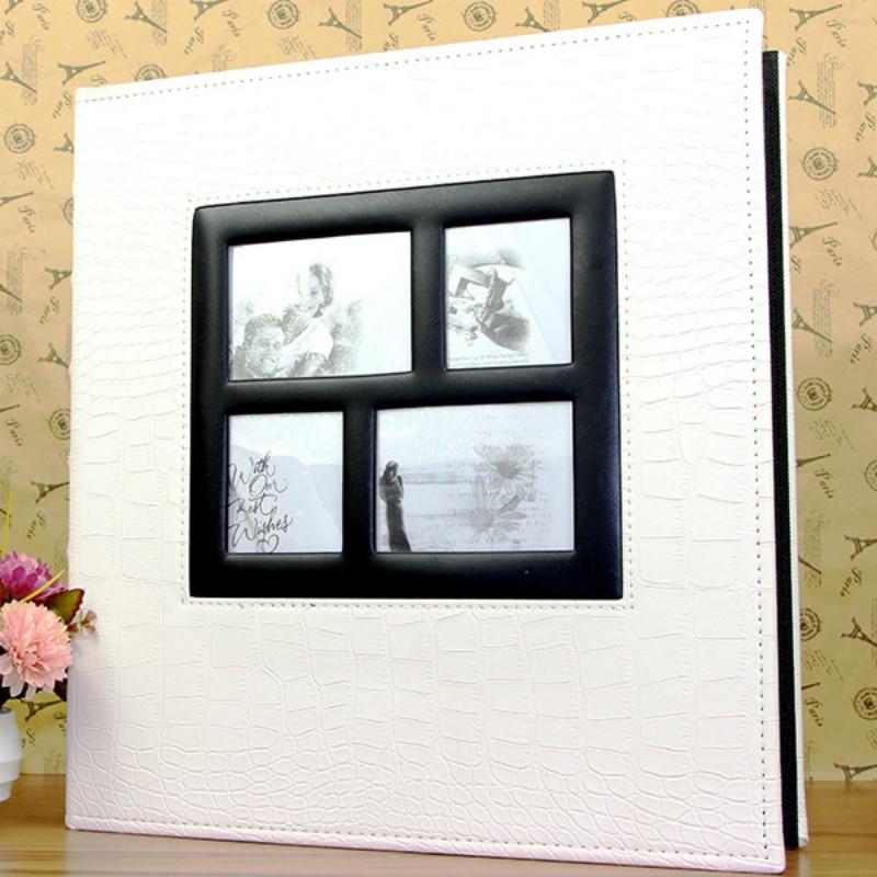 Grand format Album Photo 600 feuilles 15x10 cm Photos livre mariage Album Photo PU cuir Albums couverture Scrapbook anniversaire cadeau