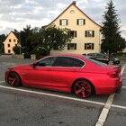 50cmX2M/3M Satin Red...