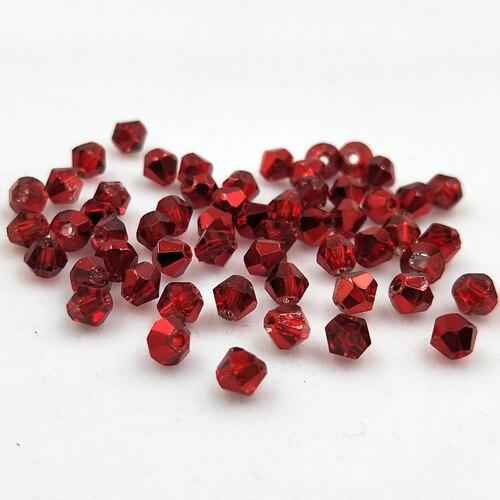 Новинка 5301 4 мм 1000 шт стеклянные кристаллы бусины биконус граненый свободный разделитель бисер бусины Fantas AB DIY Изготовление ювелирных изделий U выбор цвета - Цвет: 232