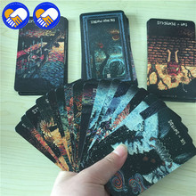цена на NEW Rider tarot cards for divination personal use tarot deck Silver sides full English version Cards Collection Toys