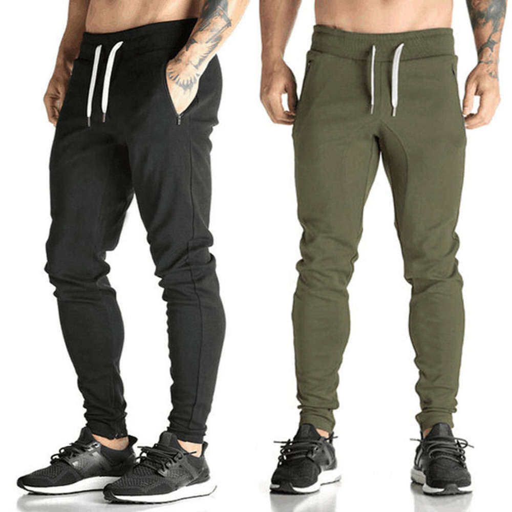 Man Cycling Pants Slim Sportswear Workout Leggings Fitness Sports Trousers Gym Running Jogger Athletic Pants Sweatpants A1