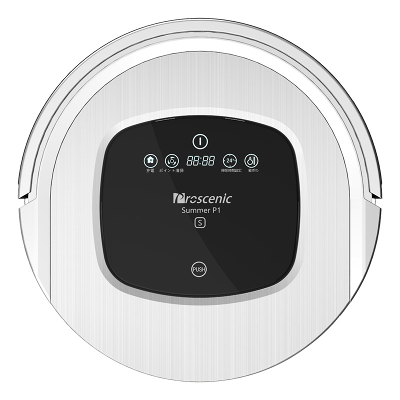 Proscenic P1S Sweep Floor Robot Vacuum Cleaner Home Fully Automatic Ultra Thin Intelligent Mop Cleaners Free