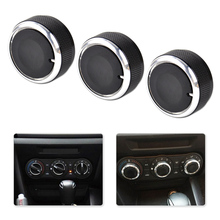 Knobs-Switch 2004 2006 2007 Mazda 3 Air-Conditioning CITALL for 2003/2004/2005/.. 3PCS