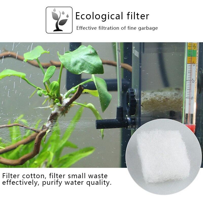 Sunsun Aquarium Surface Protein Skimmer 3W 5W 220V Oil Film Processor Remover Fish Tank Filter JY02 JY03 6