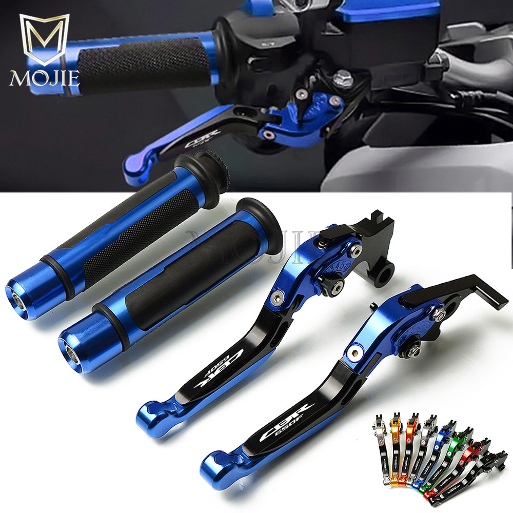 Motorcycle CNC Adjustable Foldable Brake Clutch Lever Handle Hand Grips For Honda CBR650F CBR 650F CBR650 CBR 650 F 2014-2016Motorcycle CNC Adjustable Foldable Brake Clutch Lever Handle Hand Grips For Honda CBR650F CBR 650F CBR650 CBR 650 F 2014-2016