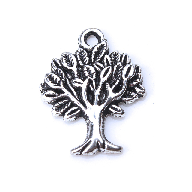 10pcs/lot Alloy Tree Life Charms Metal Pendant Charms For Necklace Bracelet Jewelry Accessories Findings Crafts Pendant