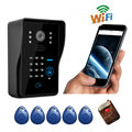 FreeShipping New Arrival Apartment Wifi Video Door Phone Wireless Intercom Wifi Doorbell Support Motion Detect Alarm