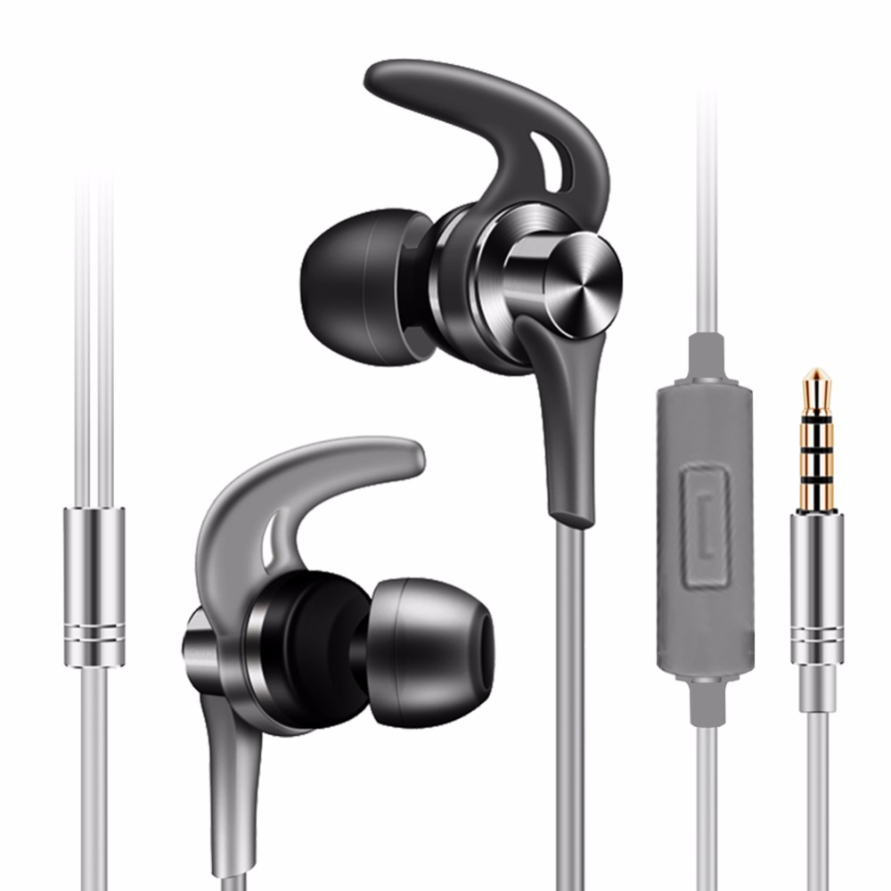Earphones with Microphone Call and Song Control Stereo In ear Earphone Earbuds for iPhone iPod iPad Samsung Android Smartphone