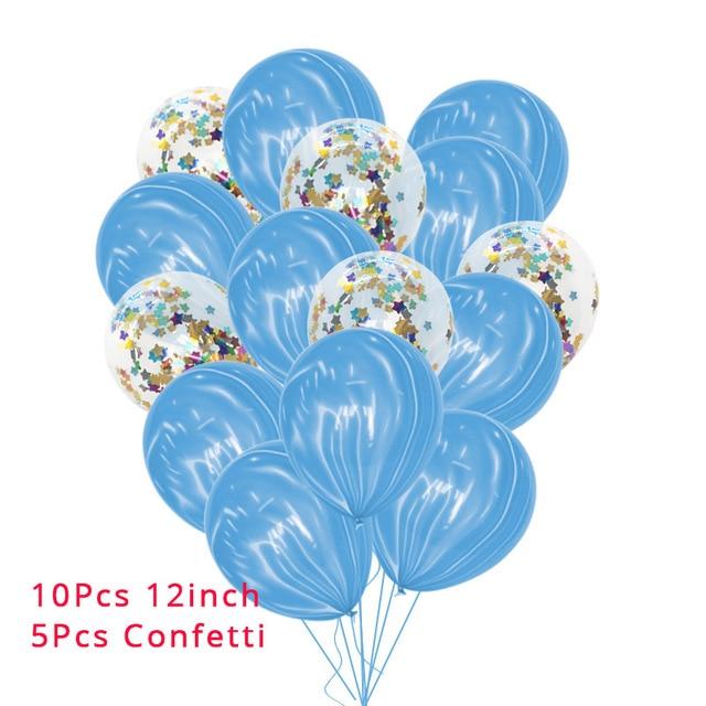 10Pcs Mermaid party plates 5c64f5cb314ca