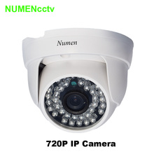 Megapixel 720P cam ips Onvif H.264 36PCS LED 3.6mm Lens P2P Indoor Dome Camera CCTV IP cammera network for Home Security System