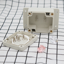 цены Free shipping , IP65 waterproof small plastic enclosure with wall mounting  fringe use for control box  63*58*35mm F20-2