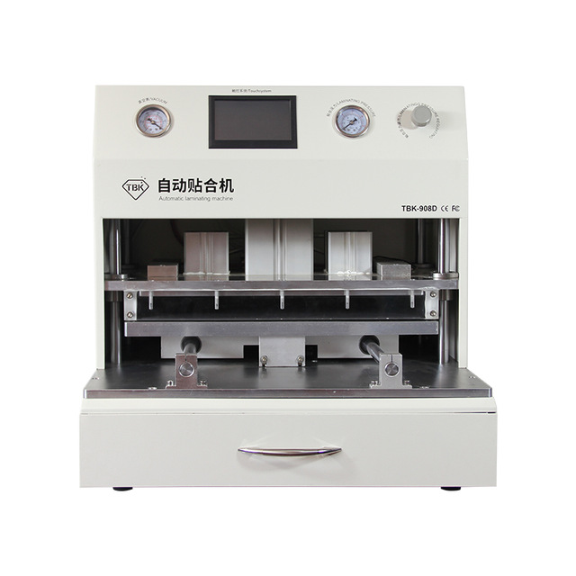 TBK-908D 18inch LCD Touch Screen Vacuum Laminator Machine OCA Vacuum Laminating Machine With UV Curing lamp Curved Touch Screen 17 14cm silicone pad silica mat gel of ko tbk oca vacuum laminating machine lcd touch screen repair separator kit tool