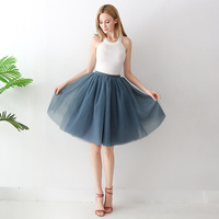 2019 Hot Sale 18 Colors 7 Layer 65CM European and American Skirt Tutu Teenage Girls 16 20years Girls