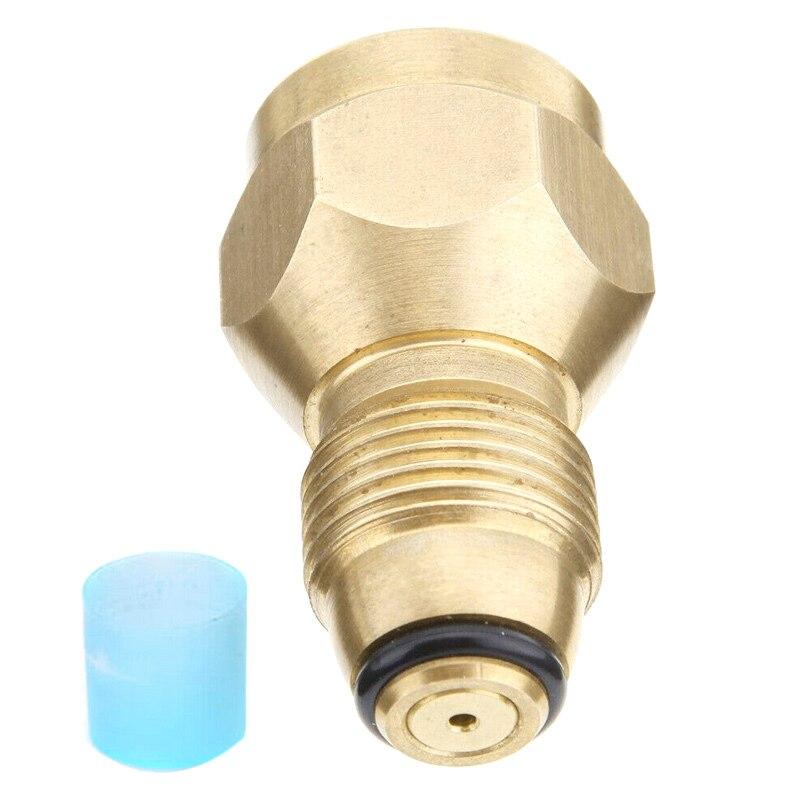 Propane Tank Refill Adapter Gas Cylinder Canister Filler Coupler Heater Brass