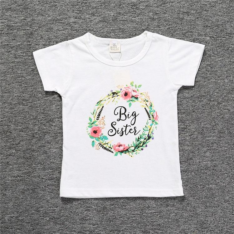 Summer Baby Boy Girl Clothes Boys Letter Print T Shirts Children Toddler Cotton Tops Infant Kids T-Shirt Girls Short Sleeve Tee