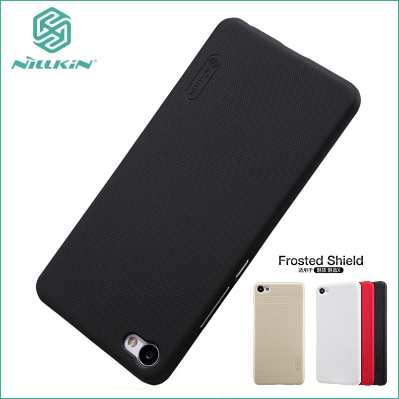 For Meizu M3X Case Nillkin Cover Hight Quality Super Frosted Shield For Meizu m3x Meilan X  Screen Protector 5.5''
