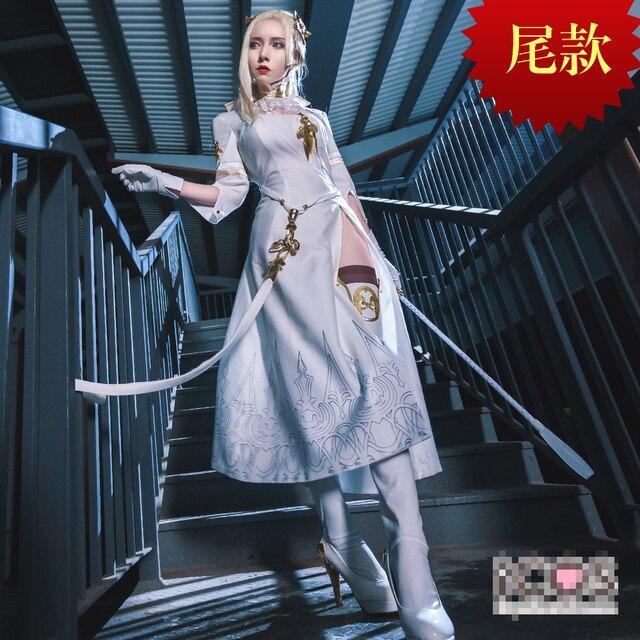 НИР  автоматы yorha командир Cheongsam униформы Косплэй костюм Бесплатная  доставка 687c6fb8a40