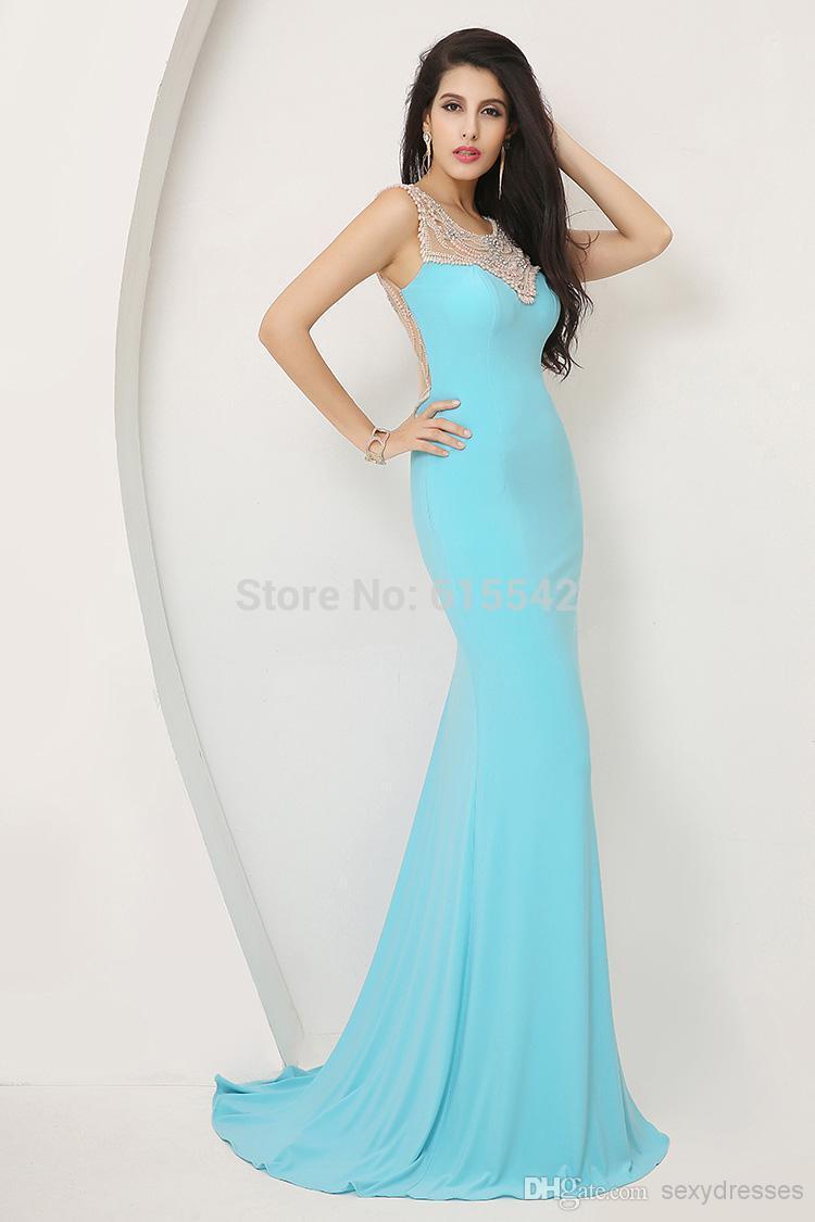 Prom Dresses Dress Finder Neon Sell My Short Blue Trumpet /Mermaid ...