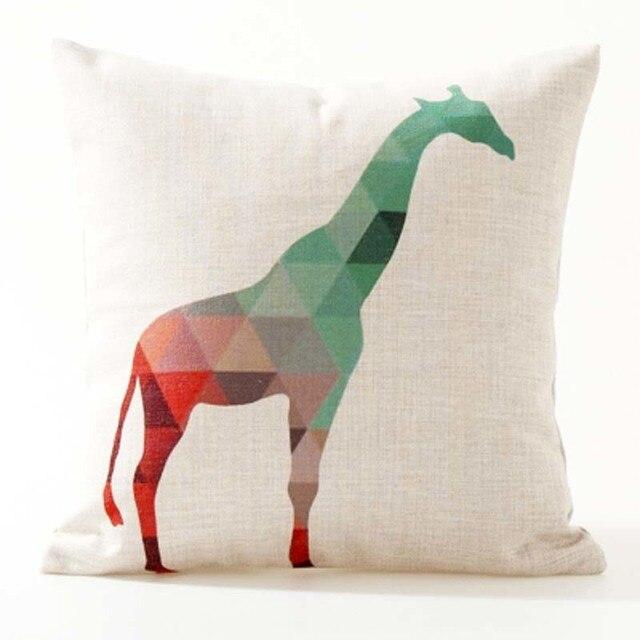 Nordic Geometric Decorative Pillowcase Size: 45CM WT0042 Color: 10