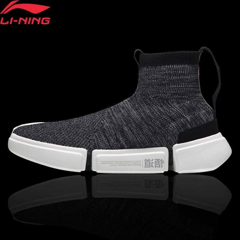 Li-Ning Men ESSENCE 2.0 Wade Culture Shoes NYFW Sock-Like LiNing Fitness Sports Shoes Comfort Sneakers AGWN009 YXB155