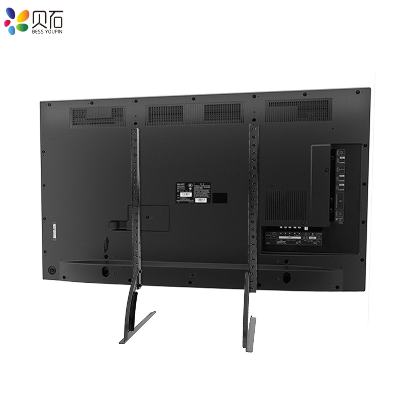 "BEISHI Universal TV Stand Base For 32''-65"" Plasma LCD Flat Screen Height Adjustable Monitor Mount Bracket Load Up To 50 kg 4"